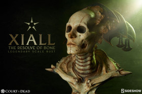 Бюст Ксиэлла — Sideshow Court of the Dead Legendary Scale Xiall The Resolve of Bone