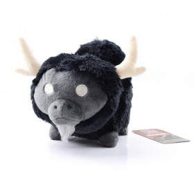 Мягкая игрушка Don't Starve Black Beefalo Plush (18см)