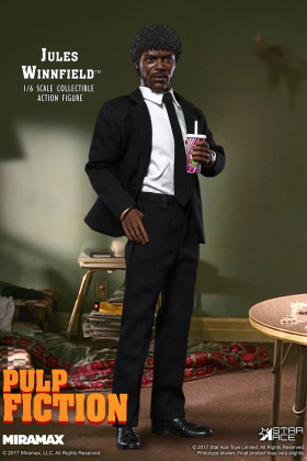 Фигурка Джулса — Star Ace Toys Pulp Fiction 1/6 Jules Winnfield