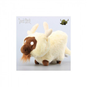 Мягкая игрушка Don't Starve White Beefalo Plush (18см)