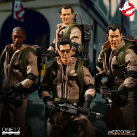 Фигурки Ghostbusters — Mezco 1/12 Deluxe Box Set