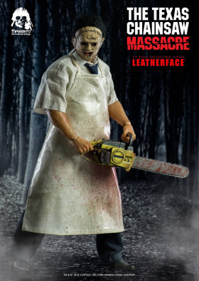 Фигурка Кожаного Лица — ThreeZero Texas Chainsaw Massacre 1/6 Leatherface