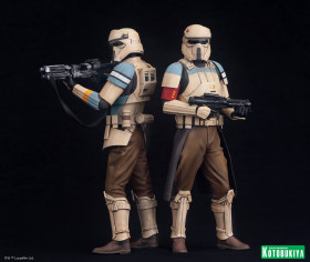 Фигурки Штурмовиков — Kotobukiya Star Wars Rogue One ARTFX+ 2-Pack Scarif Stormtrooper