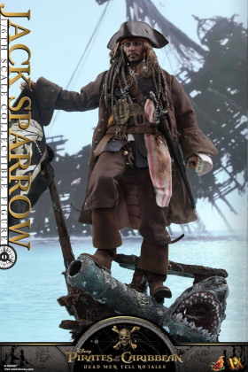Фигурка Джека Воробья — Hot Toys Pirates Of The Caribbean Jack Sparrow 1/6 Figure