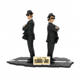 Фигурки Братьев Блюз — SD Toys Blues Brothers Movie Icons Jake & Elwood