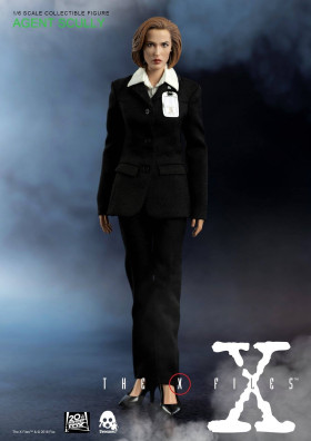 Фигурка Скалли — ThreeZero The X-Files 1/6 Agent Scully