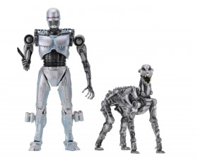 Фигурки Робокопа — Neca RoboCop vs The Terminator 2-Pack EndoCop Terminator Dog