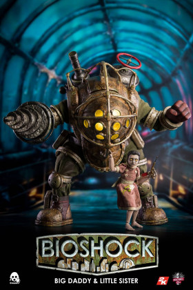Фигурка Bioshock — ThreeZero Big Daddy and Little Sister 1/6 Set