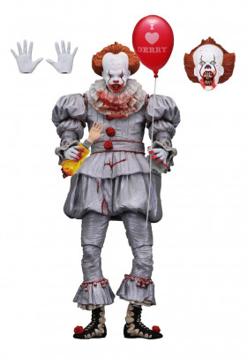 Фигурка Пеннивайза - Neca IT Ultimate Pennywise 2017 I Heart Derry