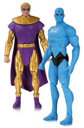 Фигурки Хранители — Doomsday Clock Ozymandias Dr Manhattan 2-Pack
