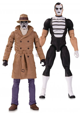 Фигурки Хранители — Doomsday Clock Rorschach & Mime 2-Pack