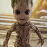 Фигурка Грута — Hot Toys Guardians of the Galaxy Vol. 2 Life-Size Groot