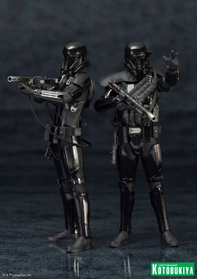 Фигурки Штурмовиков — Kotobukiya Star Wars Rogue One ARTFX+ 2-Pack Death Trooper