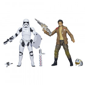 Набор фигурок — Hasbro Star Wars Black Series Poe Dameron & Stormtrooper 2-pack