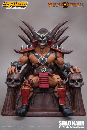 Фигурка Шао Кана — Storm Collectibles Mortal Kombat 1/12 Shao Kahn