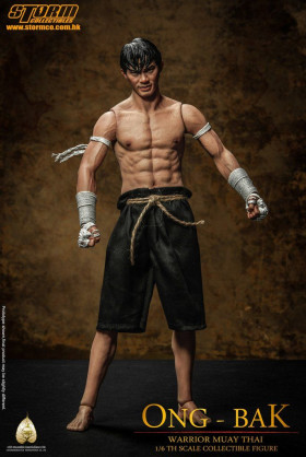 Фигурка Тони Джаа — Storm Collectibles Ong-Bak 1/6 The Thai Warrior Tony Jaa