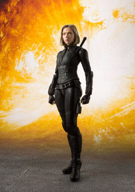 Фигурка Черной Вдовы — Avengers Infinity War S.H. Figuarts Black Widow