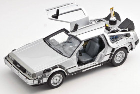 Модель ДеЛориан — Welly Back to the Future II Diecast 1/24 DeLorean